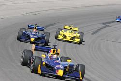Patrick Carpentier, Alex Barron and Tomas Scheckter