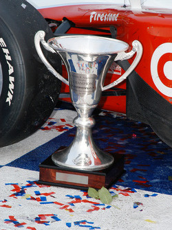 The Cameron Argetsinger trophy for the driver to keep