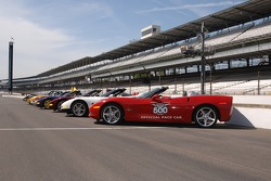 Indianapolis 500 pace car line up