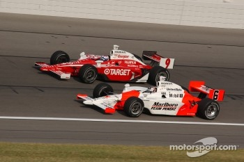 Scott Dixon and Sam Hornish Jr.