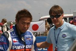 Kosuke Matsuura and Adrian Fernandez