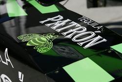 Bodywork detail of the Rahal Letterman Racing car
