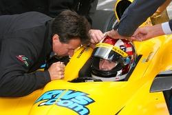 Michael Andretti and John Andretti