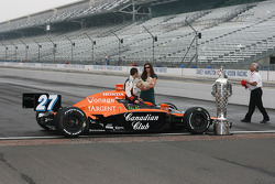 Dario Franchitti and wife Ashley Judd