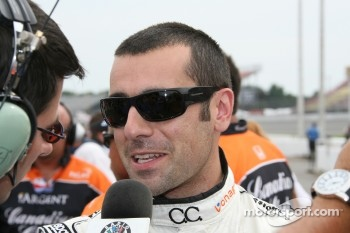 Polesitter Dario Franchitti