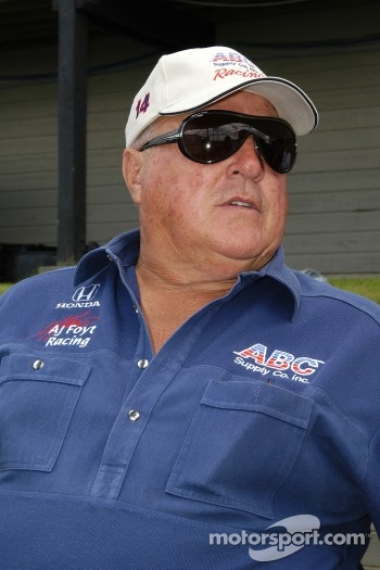 A.J. Foyt the man among men