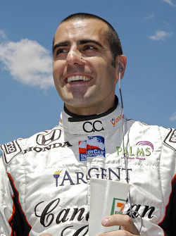 It must still be the 500 win that makes Dario Franchitti seemed happy