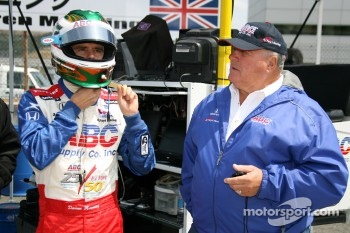 Darren Manning and A.J. Foyt