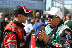 Robert Tasca III and John Force