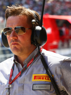 Paul Hembery of Pirelli