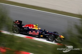 Webber took pole thanks to KERS