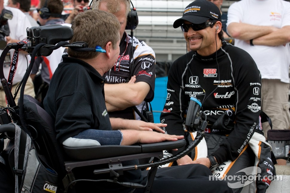 Alex Tagliani, Sam Schmidt Motorsports with team owner Sam Schmidt