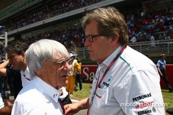 Bernie Ecclestone, Mercedes, Motorsport chief