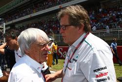 Bernie Ecclestone, Mercedes, Motorsport chief