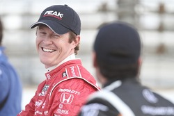 Front row photoshoot: second place Scott Dixon, Target Chip Ganassi Racing