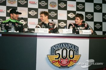 Townsend Bell, Sam Schmidt Motorsports, Will Power, Team Penske and J.R. Hildebrand, Panther Racing