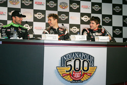 Townsend Bell, Sam Schmidt Motorsports, Will Power, Team Penske and J.R. Hildebrand, Panther Racing