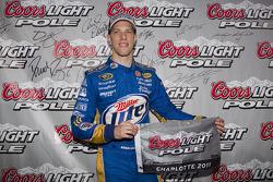 Polesitter Brad Keselowski, Penske Racing Dodge