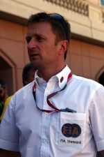 Allan McNish, FIA steward