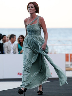 Sam Corser, wife of Troy Corser, Amber Lounge Fashion