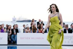 Laura Jordan, Girlfriend of Paul di Resta, Force India F1 Team, Amber Lounge Fashion