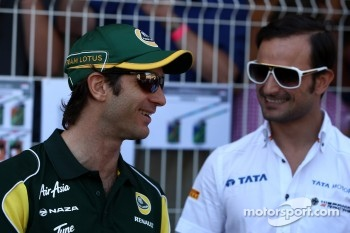 Jarno Trulli, Team Lotus, Vitantonio Liuzzi, Hispania Racing Team, HRT