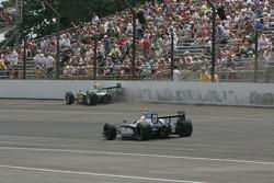 Takuma Sato, KV Racing Technology-Lotus, Tomas Scheckter, KV Racing Technology-SH Racing