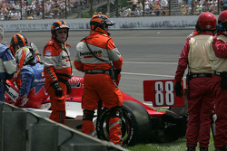Jay Howard, Sam Schmidt-RLL Racing crashes
