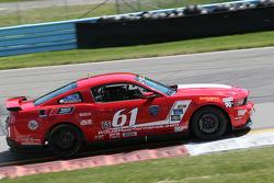 #61 Roush Performance Mustang Boss 302 R: Billy Johnson, Jack Roush Jr.