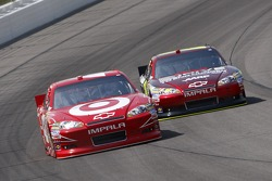 Juan Pablo Montoya, Earnhardt Ganassi Racing Chevrolet and Jeff Gordon, Hendrick Motorsports Chevrolet
