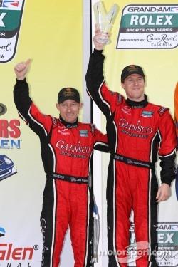 Victory lane: 3rd Place DP #99 GAINSCO/Bob Stallings Racing Chevrolet Riley: Jon Fogarty, Alex Gurney