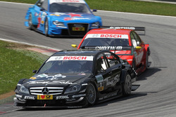 Gary Paffett, Team HWA AMG Mercedes C-Klasse, Renger van der Zande, Persson Motorsport, Mercedes C-Klasse