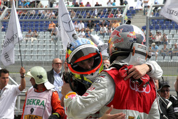 Oliver Jarvis, Audi Sport Team Abt Audi A4 DTM, Martin Tomczyk, Audi Sport Team Phoenix Audi A4 DTM