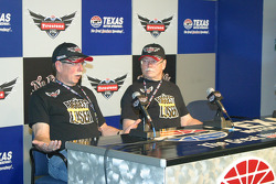 Biggest Loser contestants Dan & Don Evans serve as grand marshalls for the Firestone Twin 275s