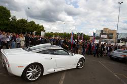 Supercars parade