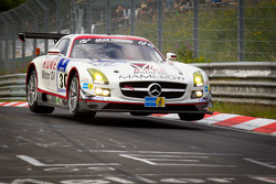 #30 Mamerow / Rowe Racing Mercedes-Benz SLS AMG GT3: Chris Mamerow, Armin Hahne, Pierre Kaffer