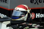 Eddie Cheever Jr. helmet