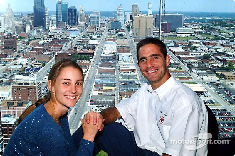 Felipe Giaffone with girlfriend Alice