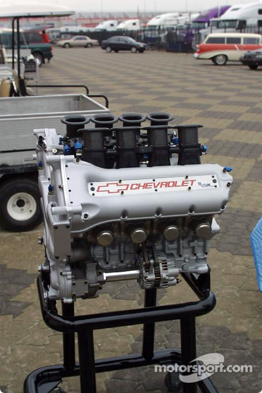 Presentation of the new Chevy Indy V8 engine