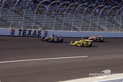 Sam Hornish Jr., Robbie Buhl and Jaques Lazier