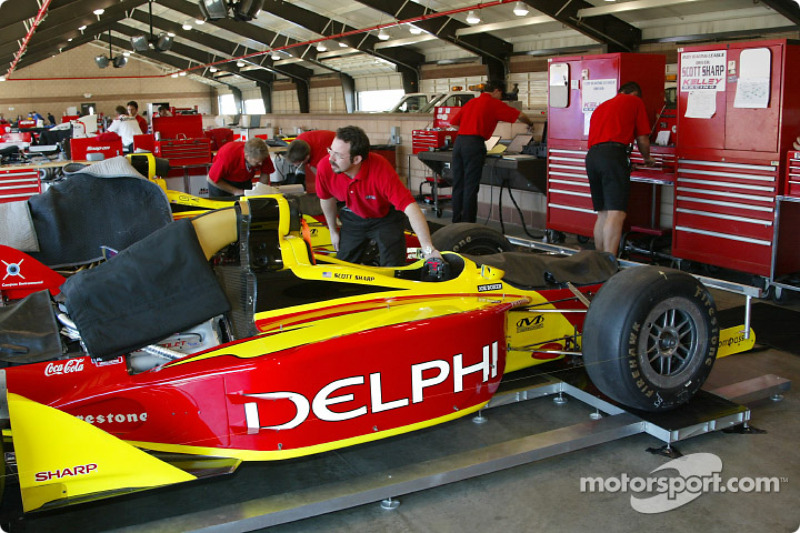 Kelley Racing garage area