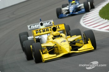 Sunday morning session: Sam Hornish Jr.