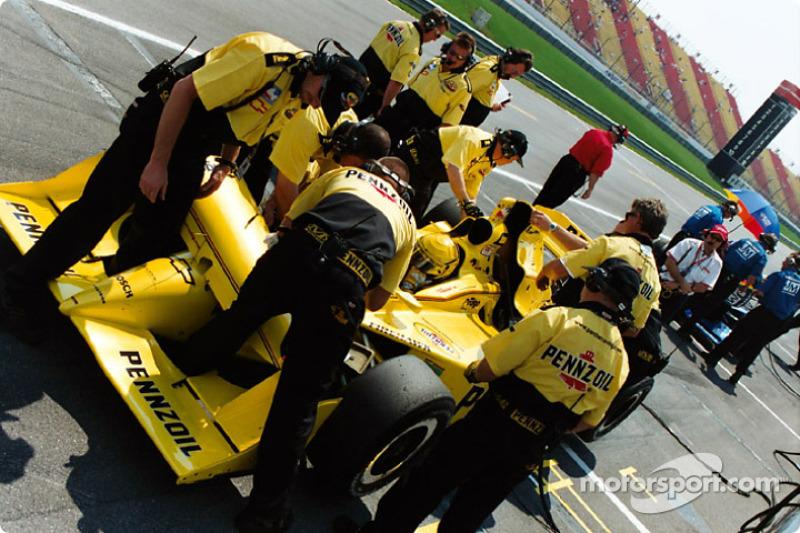 Panther Racing preparing