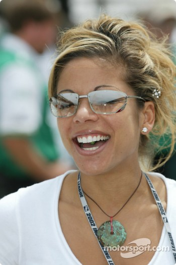 Michael Andretti's wife Leslie