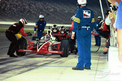 Pitstop for Al Unser Jr.