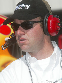 Bradley Motorsports crew member