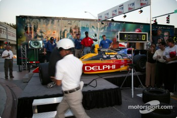 Toyota Indy Feat held in South Beach, Miami: pitstop competition