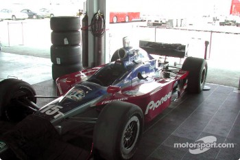Team Rahal garage area