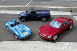 Sleek Chevrolet vehicles