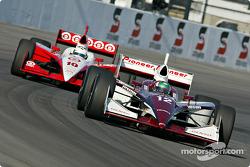 Tora Takagi and Tomas Scheckter